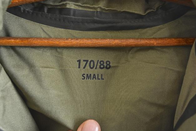 U.K army DPM camouflage Gore-tex jacket dead stock_f0226051_14361841.jpg