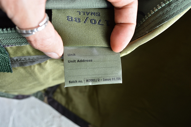U.K army DPM camouflage Gore-tex jacket dead stock_f0226051_1437186.jpg