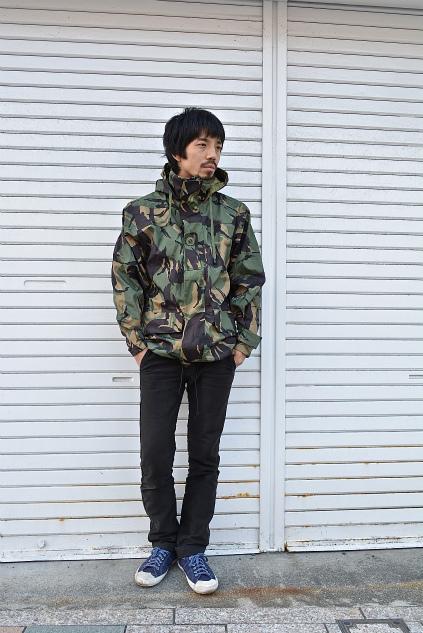 U.K. army DPM camouflage Gore-tex jacket dead stock snaps_f0226051_21285094.jpg