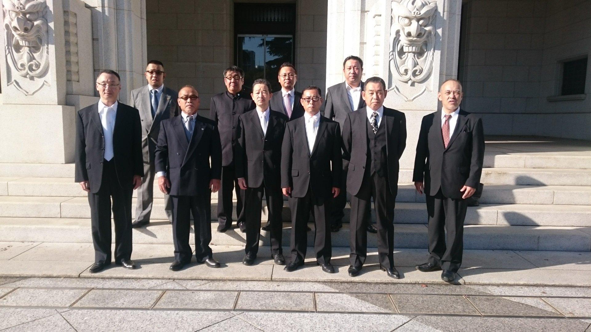 靖国神社秋季例大祭正式参拝 : 皇憂楠心塾公式ブログ
