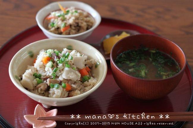 焼き鮭と常備菜弁当 ✿ ちんぬくじゅーしぃ♪_c0139375_1115111.jpg