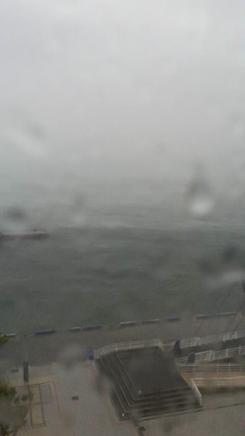 台風と水行_d0339676_11251262.jpg