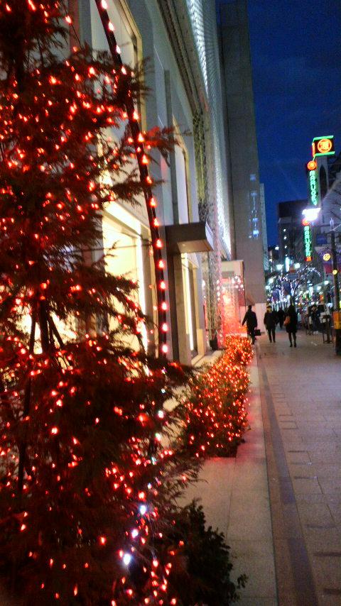 銀座並木通り・資生堂のクリスマス_d0339676_11264941.jpg