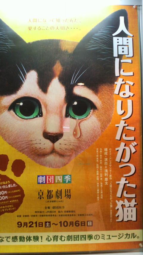 劇団四季「人間になりたがった猫」_d0339676_11270547.jpg