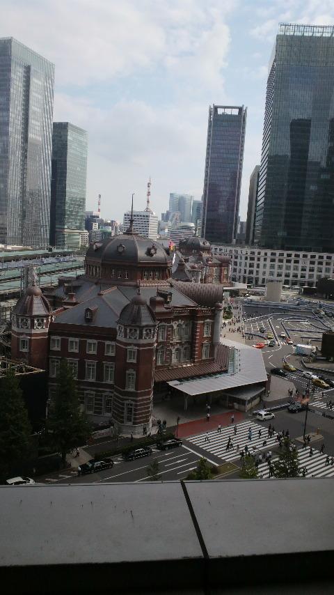ホテル・丸の内ホテルから見た東京駅_d0339676_11272009.jpg