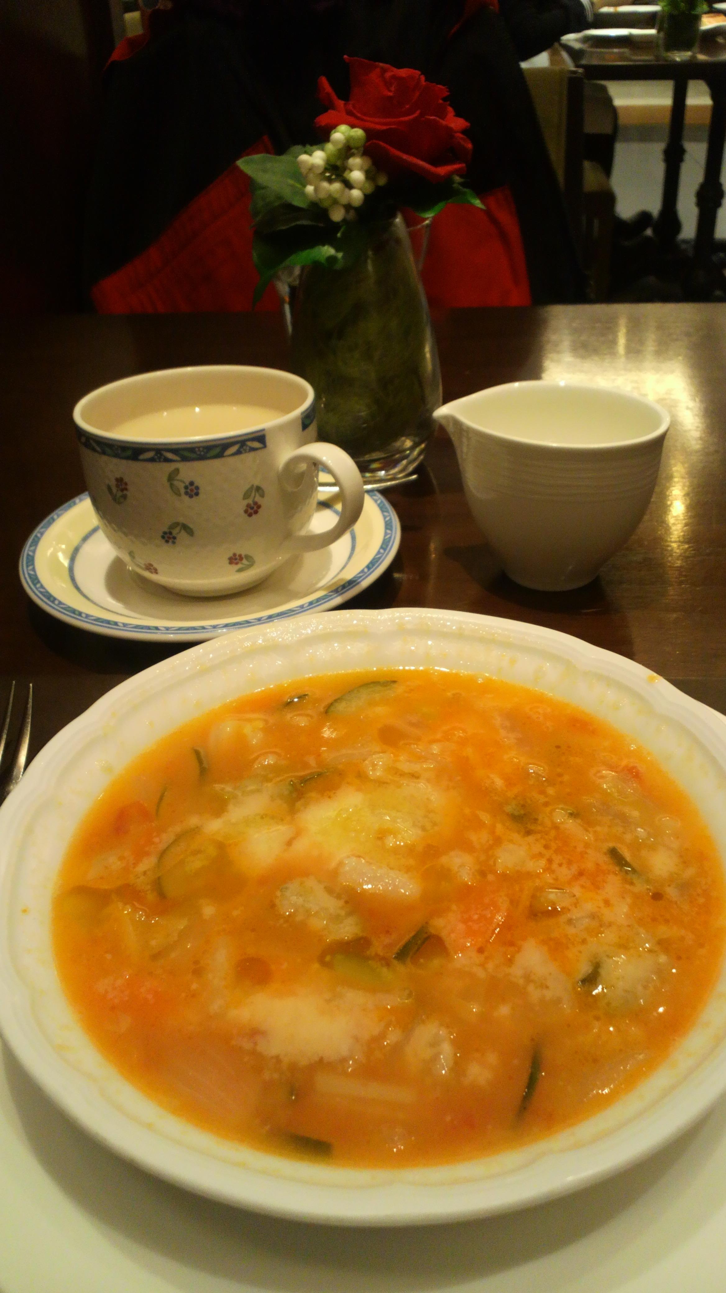 野菜スープ。サバティーニ・ディ・フィレンツェ_d0339676_11274258.jpg