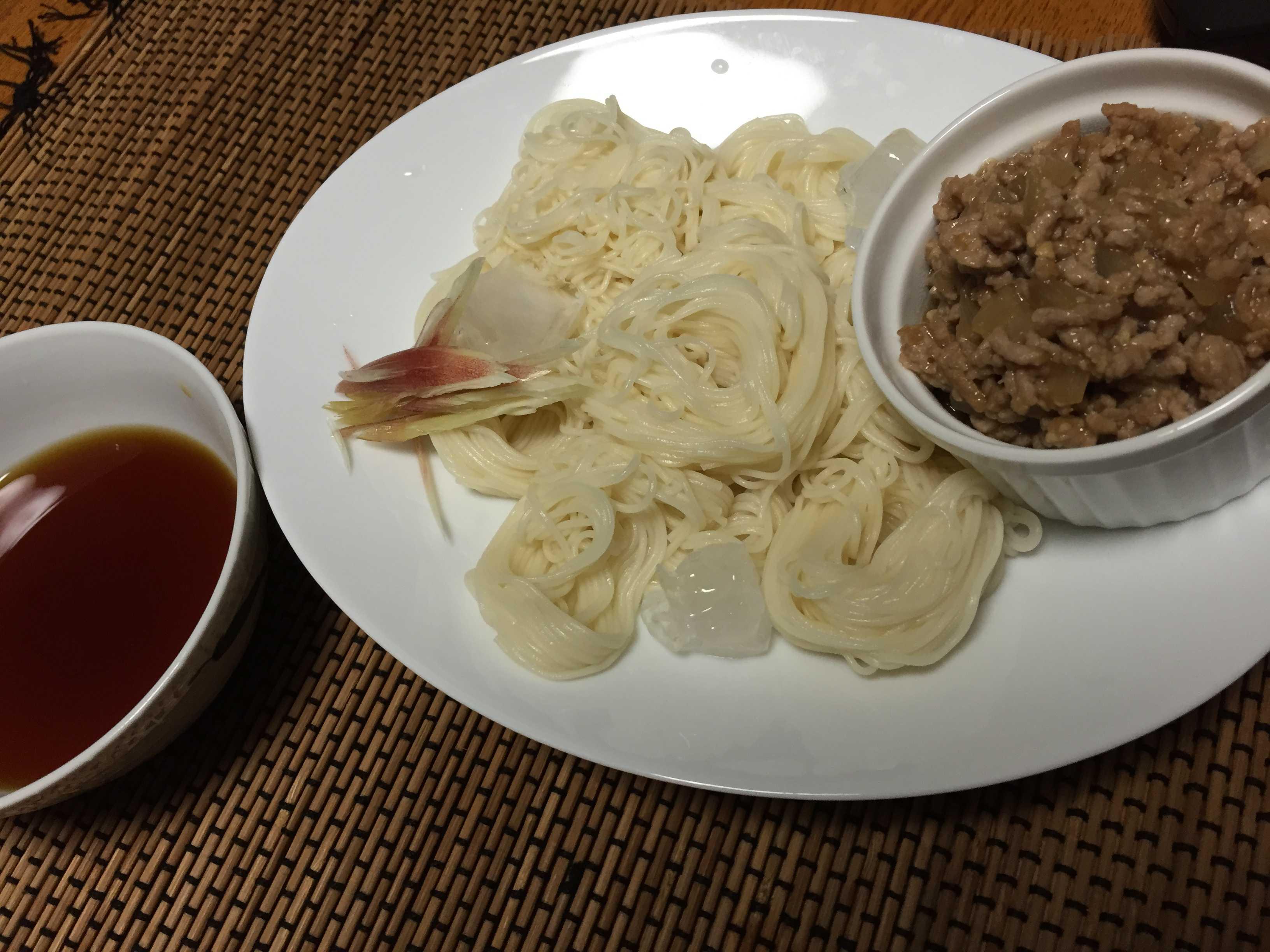 【簡単レシピ】そうめん用肉みそ_d0339678_12350482.jpg