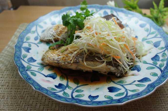【簡単おもてなしレシピ】中華風蒸し魚_d0339678_12362369.jpg