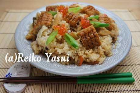 【レシピ】穴子とたけのこのちらし寿司_d0339678_12374795.jpg
