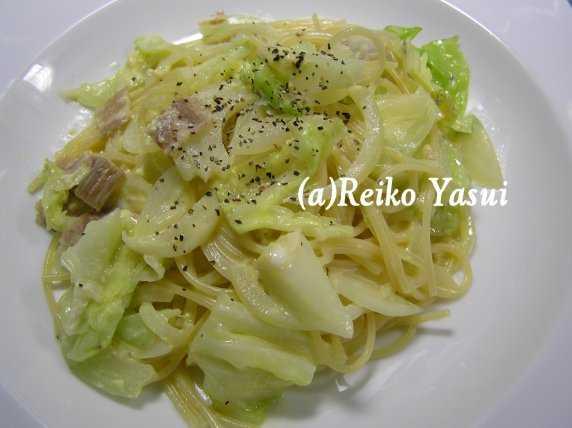 【節水レシピ】炊飯器のカルボナーラパスタ_d0339678_12375297.jpg