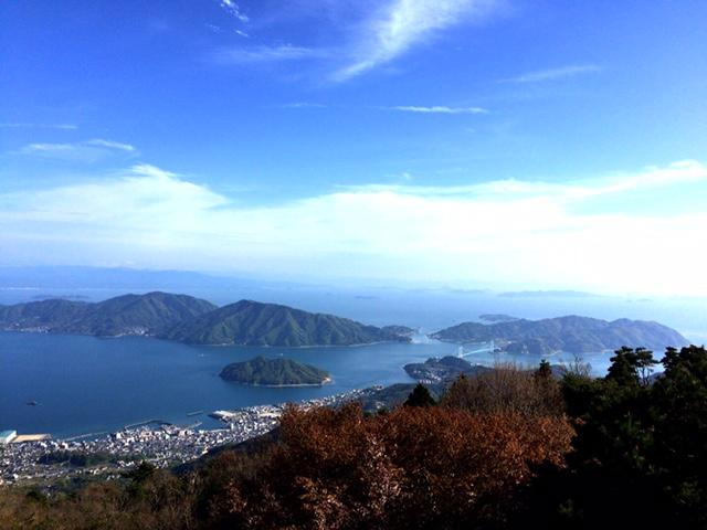 野呂山から瀬戸内海一望_d0339885_12563089.jpg