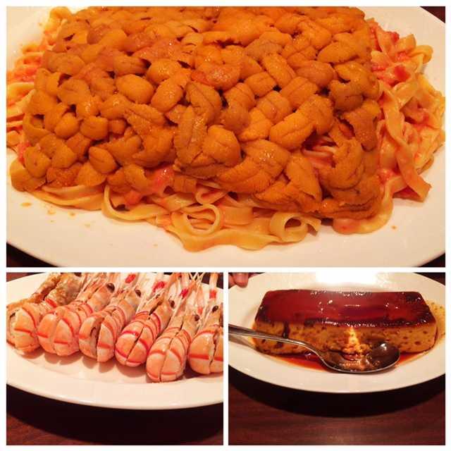 ドドーンと生ウニ山盛りパスタ!23人で食べたよ:ケンズカフェ_d0339885_12565132.jpg