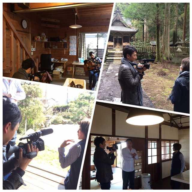 堀潤さんが「千年陶画プロジェクト」の取材に来てくださいました♪@福井_d0339885_12565576.jpg
