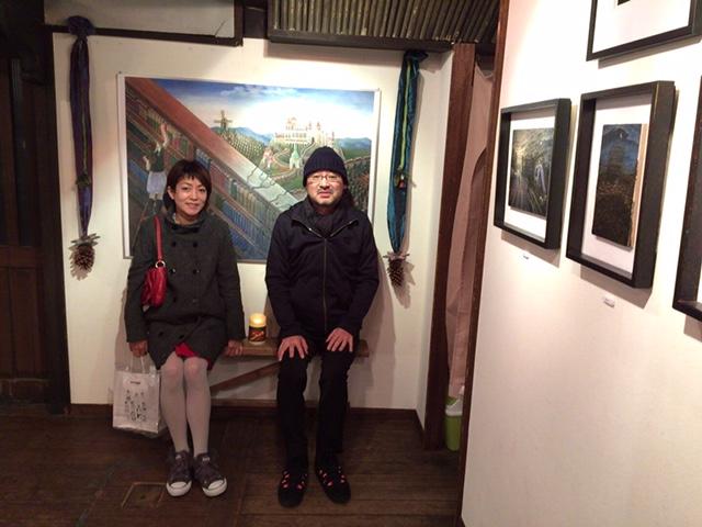 藤田新策さんの展覧会_d0339885_12574943.jpg