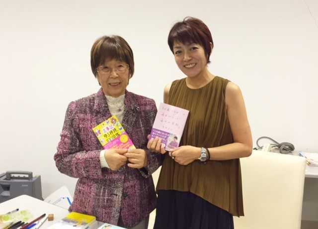 一番お会いしたかった方だったので感激♪87歳ブロガー繁野美和さんのトークイベント_d0339885_12582386.jpg