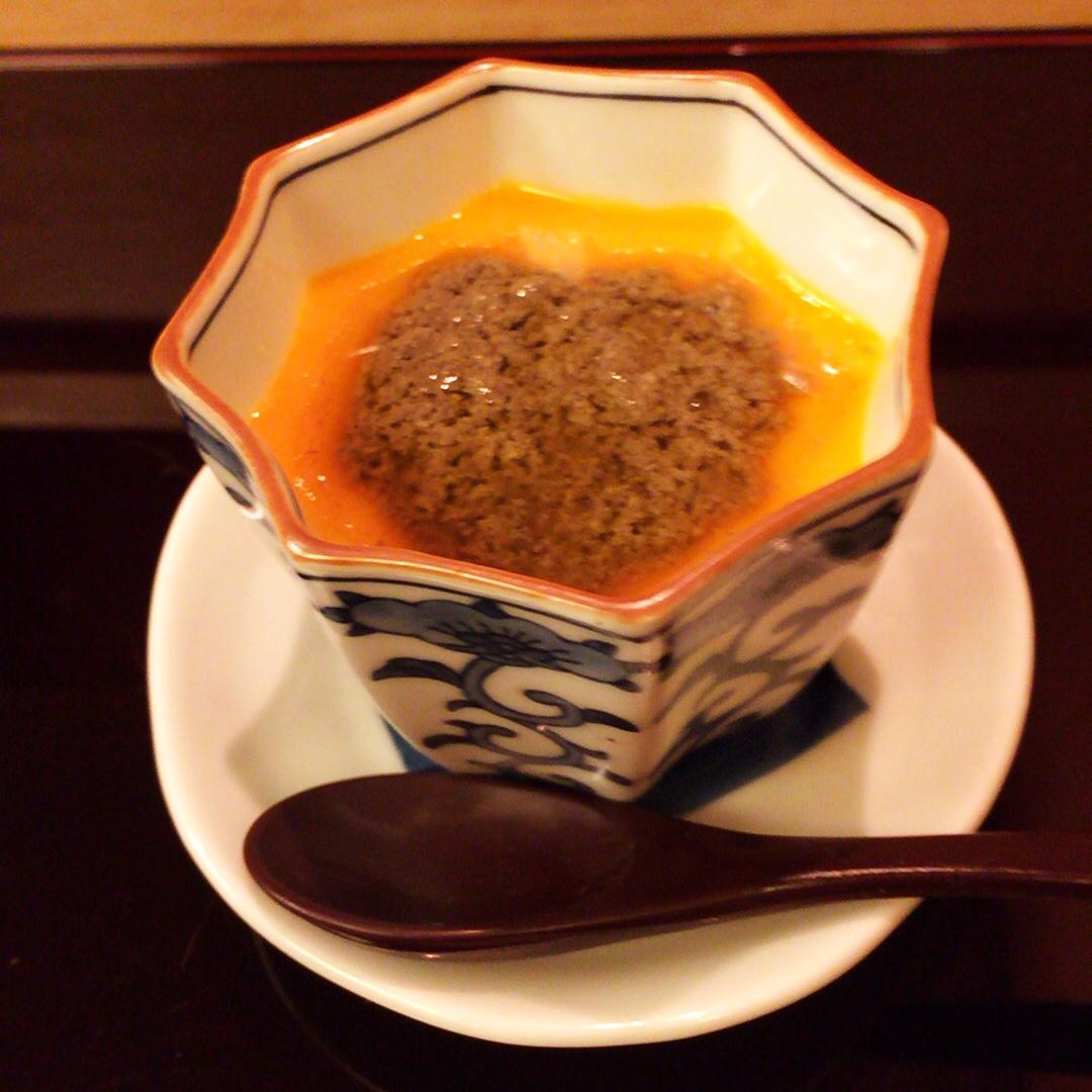 蟹の茶碗蒸し_d0339885_12582660.jpg