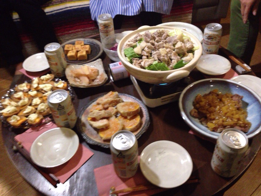 夫が作った晩御飯:酢豚_d0339885_12584817.jpg