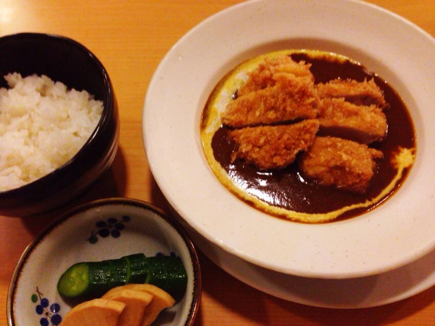 時々無性に食べたくなる福幸亭のカツカレー@軽井沢_d0339885_12591215.jpg