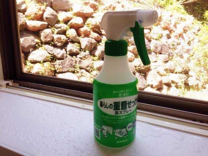 安くて安全♪水回りのお掃除はこれ使ってる:ミヨシ 暮らしの重曹石けん泡スプレー_d0339885_12593265.jpg