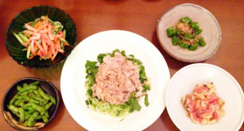 夫が作った晩御飯:イチジクとクルミの和え物_d0339885_12594238.jpg