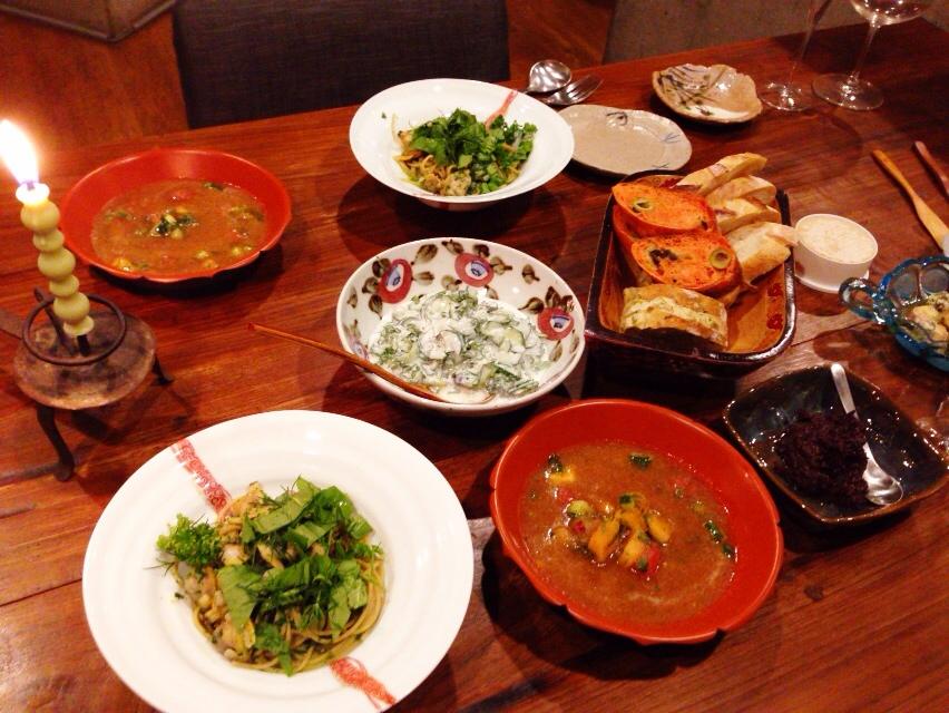 夫が作った晩御飯:アランデュカスのナチュールレシピ_d0339885_12595770.jpg