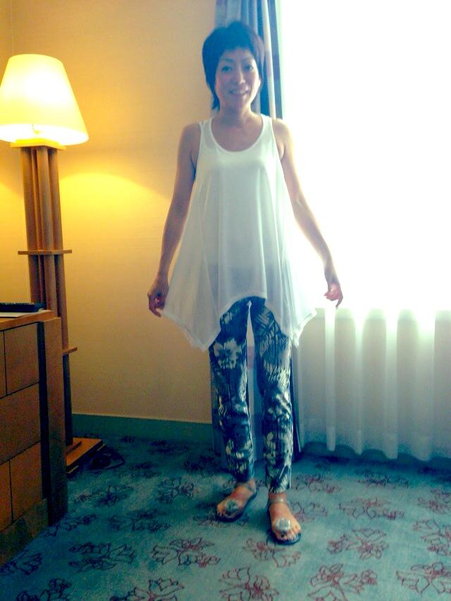 今日のファッション:H&MのTシャツ_d0339885_13001278.jpg