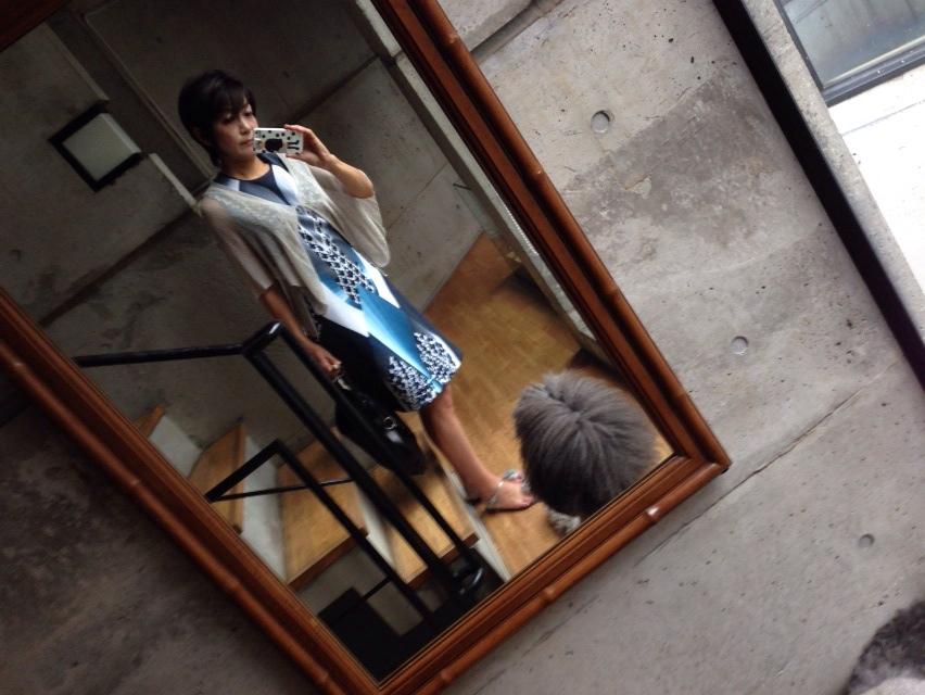 今日のファッション:YSLリブゴーシュ_d0339885_13001490.jpg