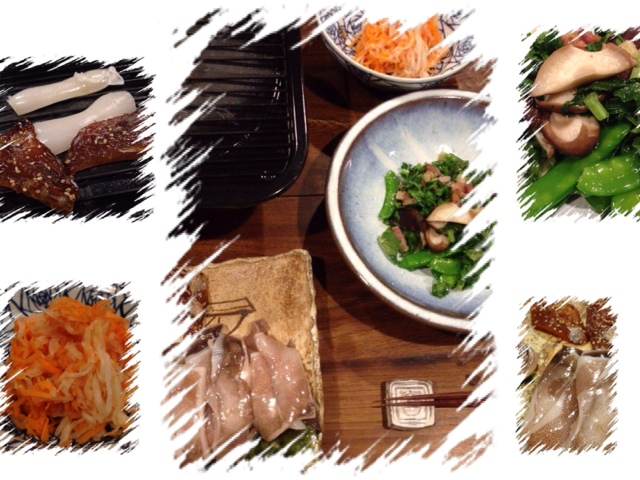 夫が作った晩御飯:干物を焼きます_d0339885_13005064.jpg