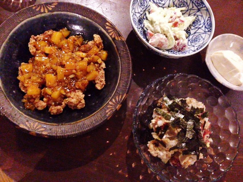 夫が作った晩御飯:完璧な酢豚_d0339885_13013117.jpg