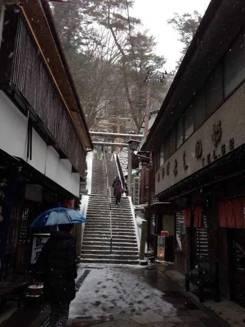 雪見風呂楽しんだよ♪なかなか渋くていいわ、伊香保温泉_d0339885_13023360.jpg