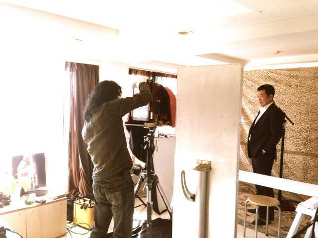 フォトグラファー本間日呂志さんに湿板写真を撮ってもらったよ(幕末の頃の手法だって)_d0339885_13031402.jpg