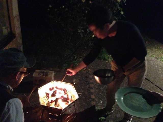 イノシシ丸ごと堪能♪こんなに美味しかったとはっ:我が家で初のジビエ会_d0339885_13032167.jpg