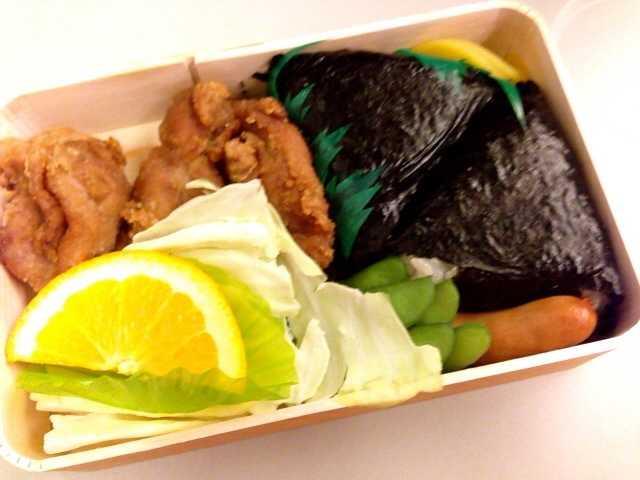広島から新幹線に乗るなら:むさしの「若鶏むすび弁当」_d0339885_13041631.jpg