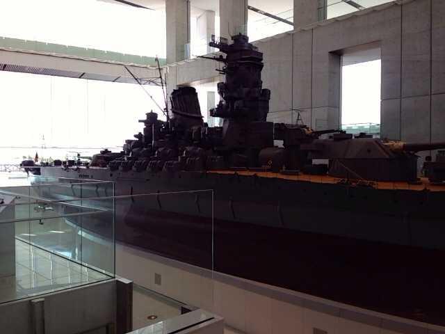 呉の見どころ1:大和ミュージアム(戦艦大和の1/10サイズ模型など)_d0339885_13042941.jpg
