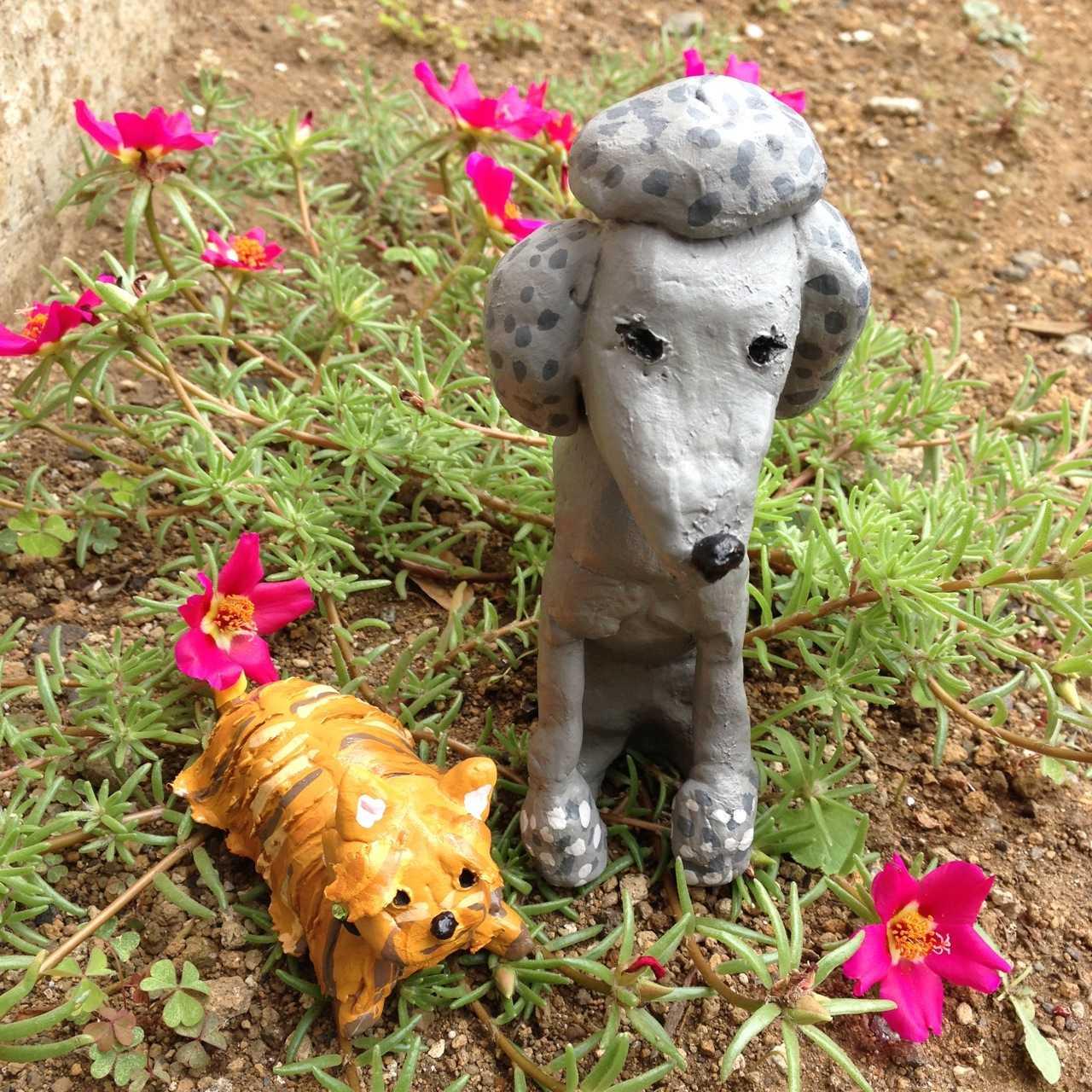 粘土作品作ったよ!お気に入り♪こちらのサイトで見れます→「ねんど夏フェス」_d0339885_13053459.jpg