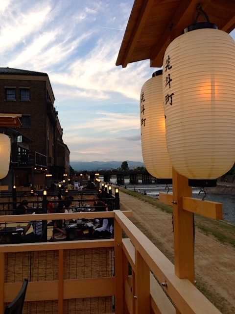 浴衣を着て集合♪京都の川床で鴨川眺めながらフレンチ会席:先斗町 禊川_d0339885_13055429.jpg