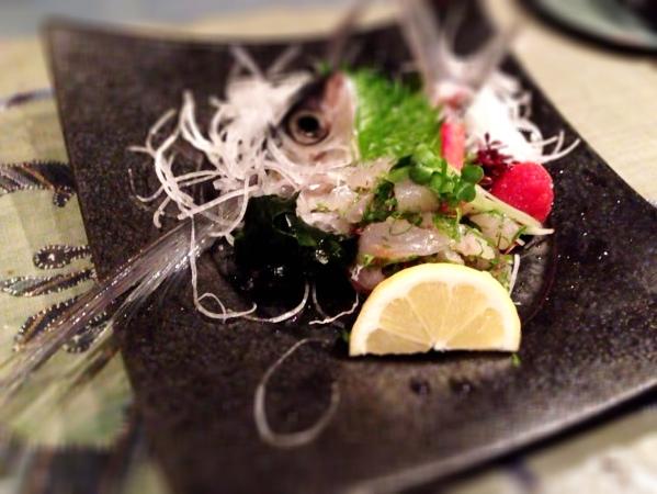 太刀魚のタタキ(^-^)/_d0339885_13055714.jpg