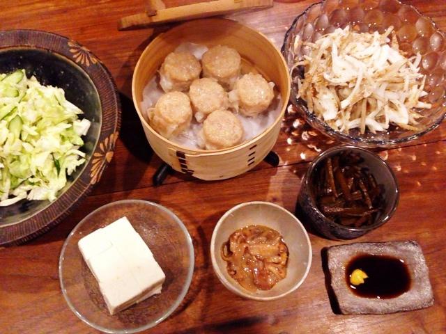 夫が作った晩ご飯:イカの塩辛_d0339885_13062242.jpg
