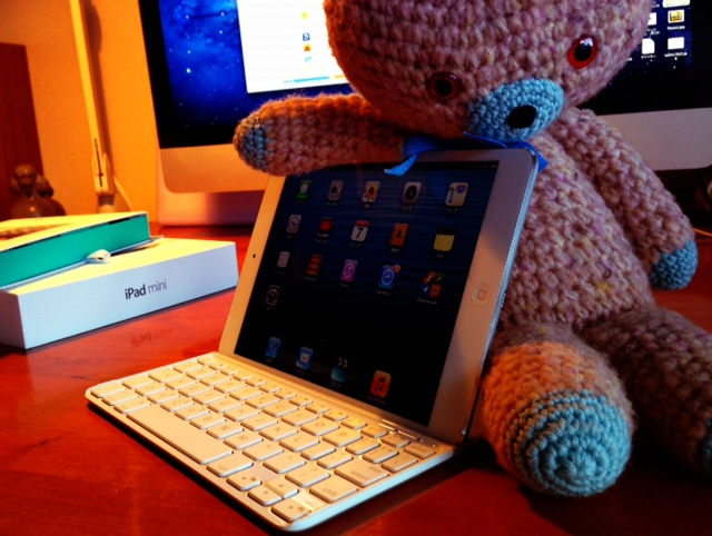 かわいいキーボードも買った_d0339885_13064099.jpg