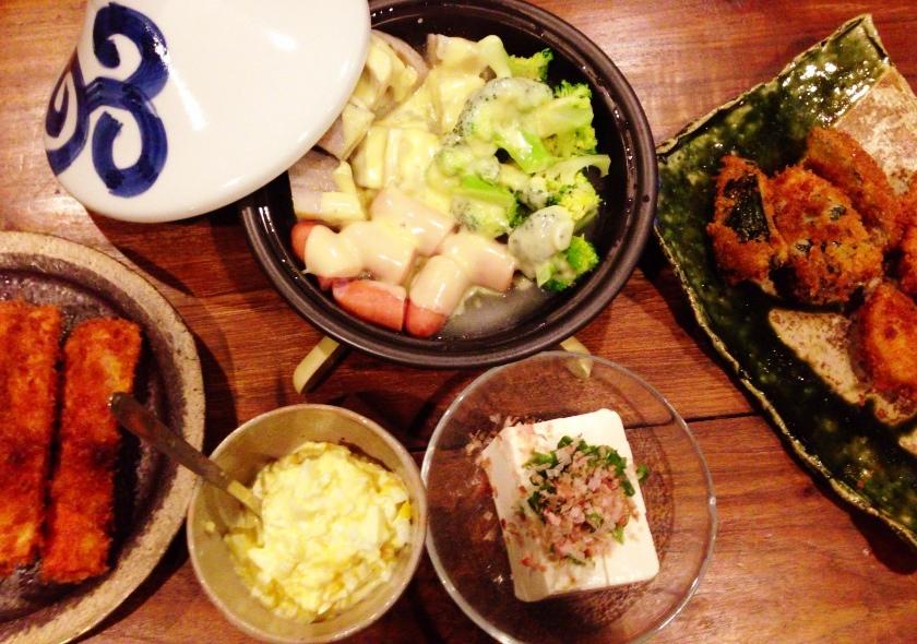 夫が作った晩ご飯:タジン鍋で蒸し野菜_d0339885_13073617.jpg