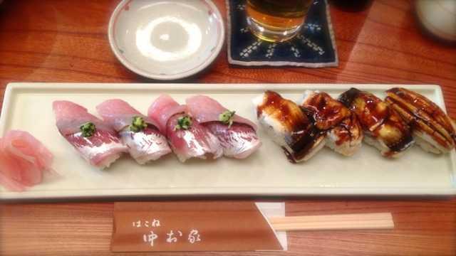 ふんわり甘いあなごが美味しいー:箱根湯本 中村屋_d0339885_13081487.jpg
