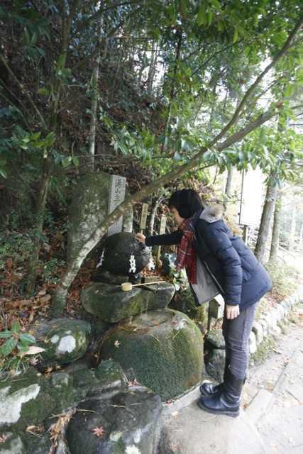 出雲の旅8:願い石と叶い石で力が宿る「玉作湯神社」容姿端麗の守護神も_d0339885_13452031.jpg