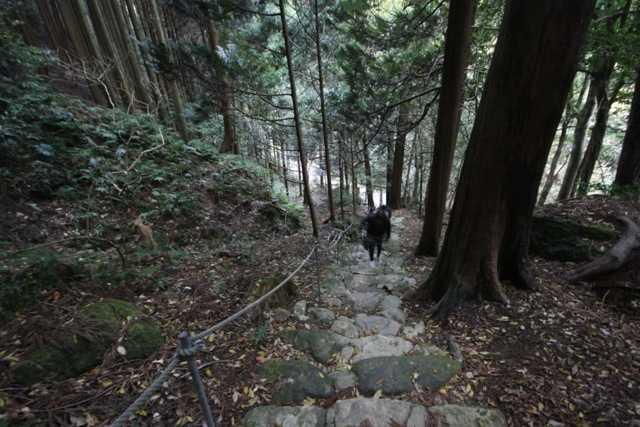 出雲の旅7:超難関!険しい石段&狭い岩の隙間を通らないと辿り着けない「韓竃神社」_d0339885_13452114.jpg