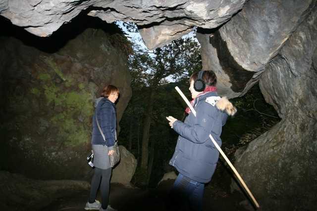 出雲の旅7:超難関!険しい石段&狭い岩の隙間を通らないと辿り着けない「韓竃神社」_d0339885_13452155.jpg