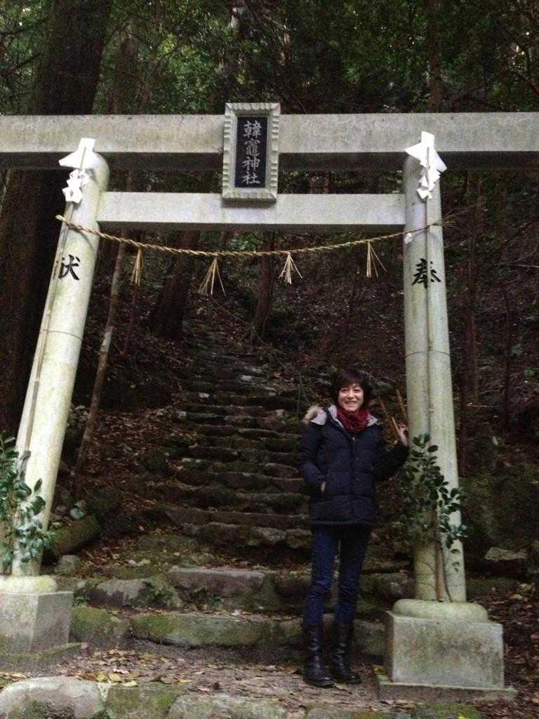 出雲の旅7:超難関!険しい石段&狭い岩の隙間を通らないと辿り着けない「韓竃神社」_d0339885_13452170.jpg