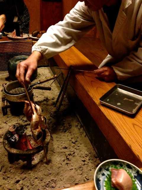 出雲の旅4:風土記の時代からの温泉と囲炉裏端の絶品料理の宿「湯乃上館」_d0339885_13452382.jpg
