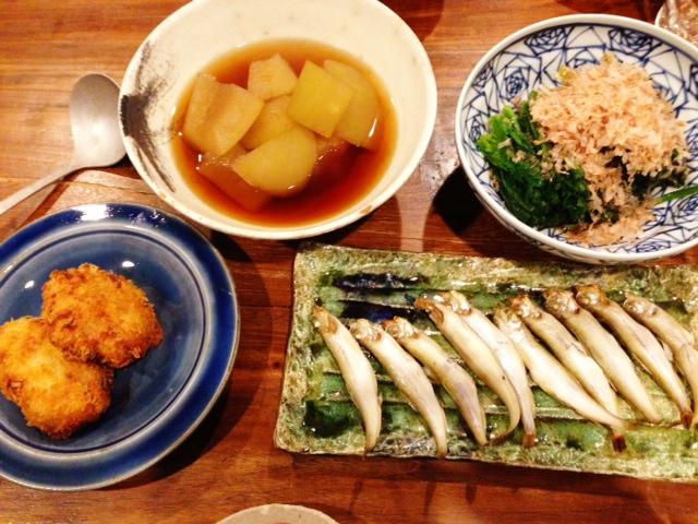 夫が作った晩ご飯:とうがんの煮物_d0339885_13452415.jpg