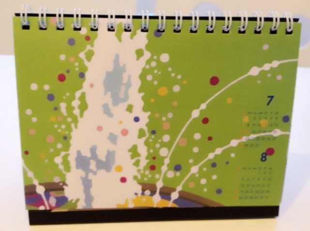 2013年卓上カレンダー、代官山蔦屋書店にて引き続き販売中_d0339885_13455644.jpg