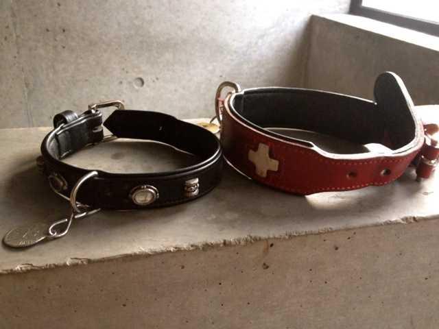 我が家の犬たちの新しい首輪:ドイツのHUNTER(ハンター)_d0339885_13461519.jpg