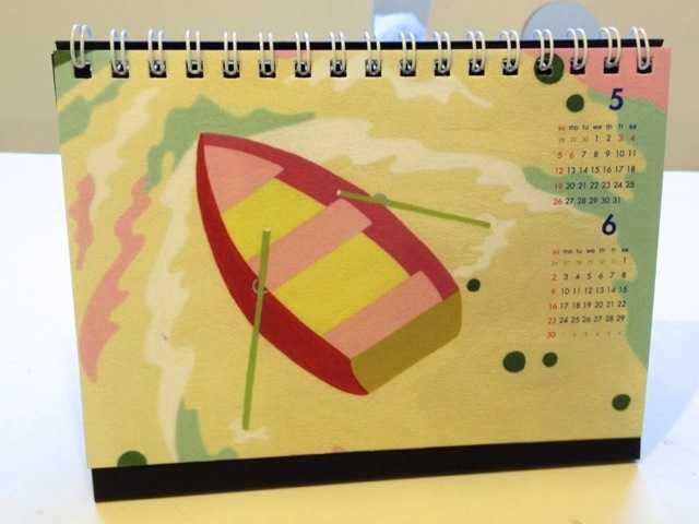2013年卓上カレンダー:10/2~個展で販売するグッズ(2)初日の一般公開は10~18時_d0339885_13462777.jpg